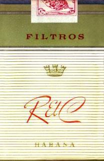 Кубинские сигареты R el C