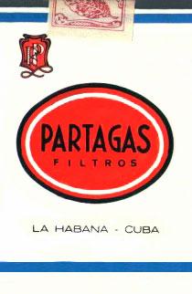 Кубинские сигареты Partagas