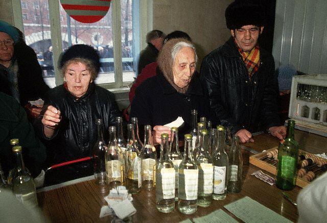 За водкой в СССР