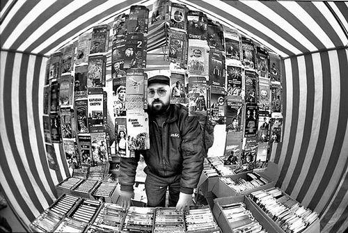 Стихийный рынок на старой Горбушке