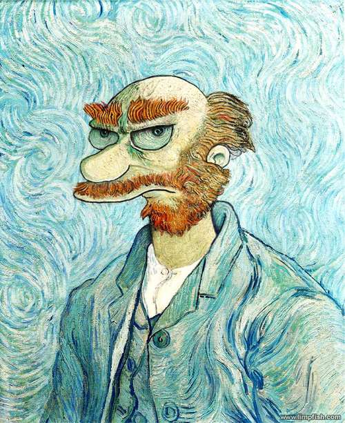 David Barton - Groundskeeper Willie Van Gogh