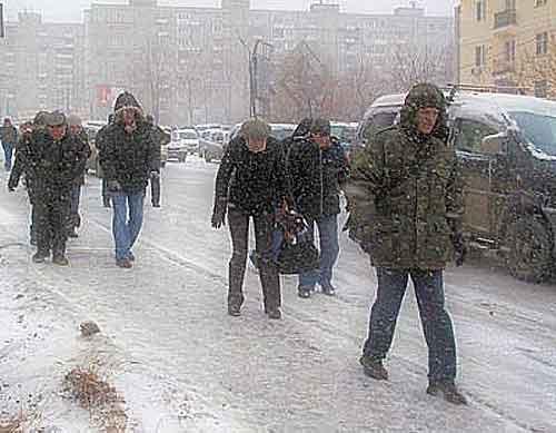 Зимняя улица