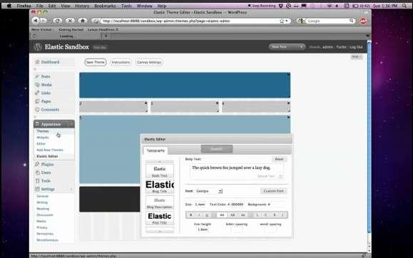 Создание шаблона Wordpress за одну минуту