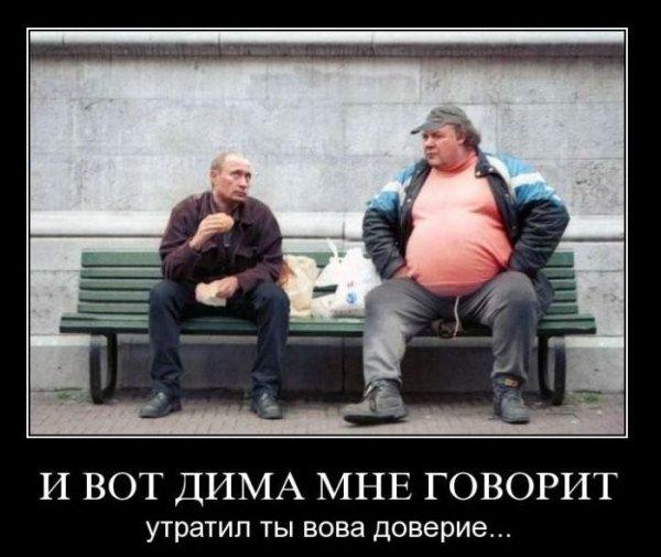 И вот Дима мне говорит: утратил ты, Вова, доверие