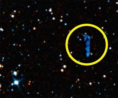 Большой синий инопланетный половой хер
