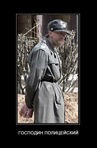 Господин полицейский