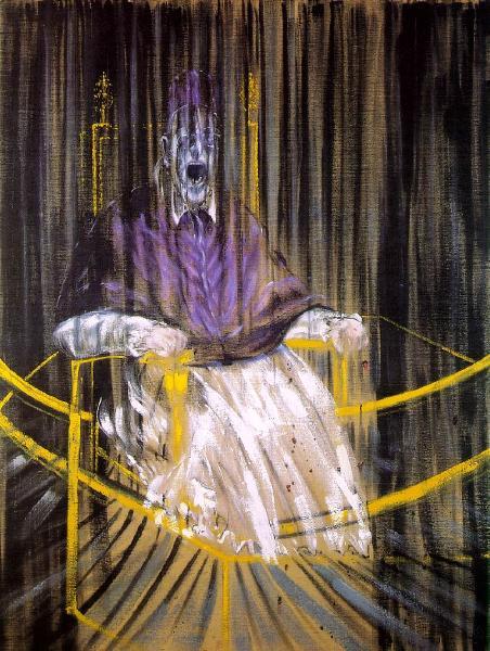 Фрэнсиса Бэкона - Штудия к портрету папы Иннокентия Х