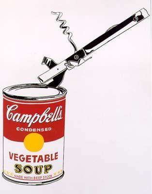 Энди Уорхолл - Банка супа Кэмпбелл