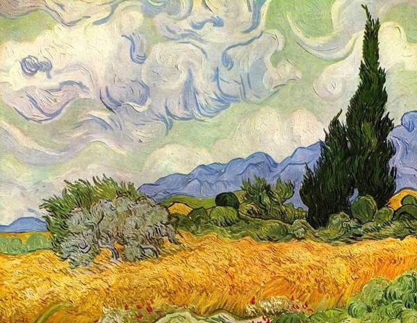 Ван Гог - Пшеничное поле