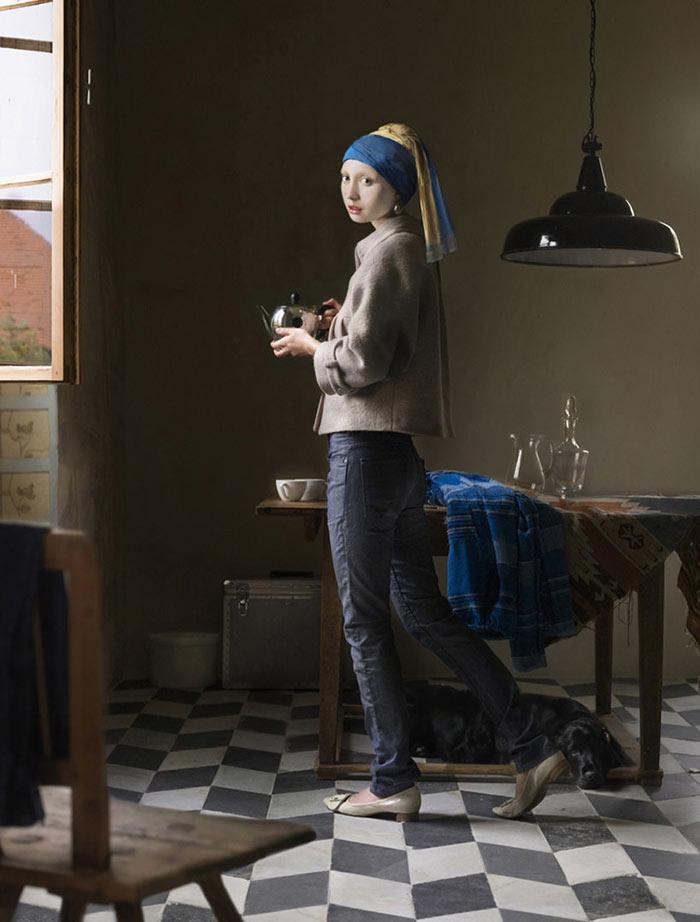 Dorothee Golz - Der Perlenohrring
