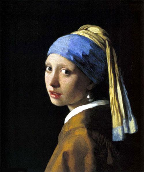 Ян Вермеер - Девушка с жемчужной серьгой