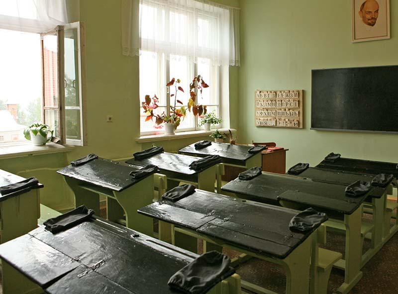 Класс в советской школе