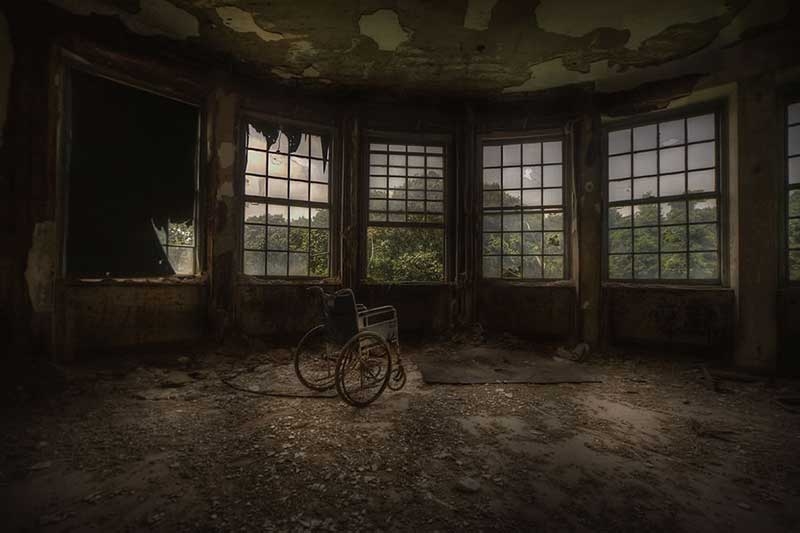 abandoned childrens Tuberculosis sanatorium