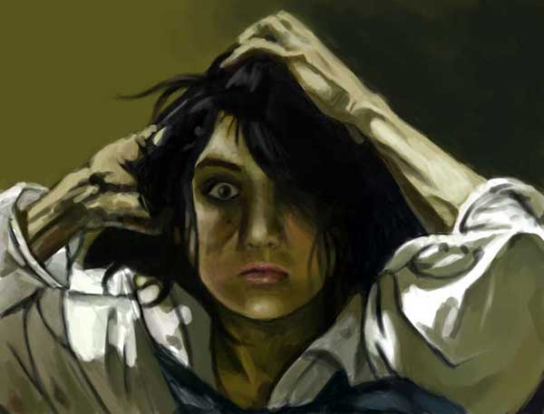 Autoportrait as Courbet by FlyingRotten