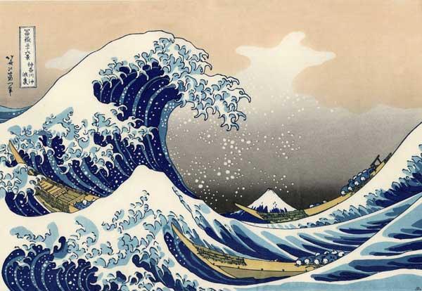 Хокусай - Большая волна
