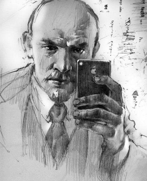 Ленин и айфон