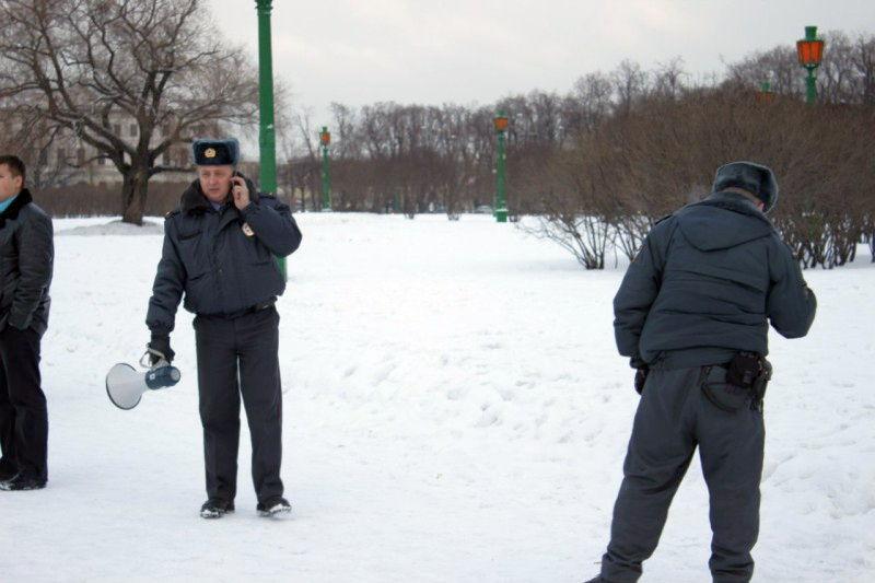 Операция зачистки от снежков