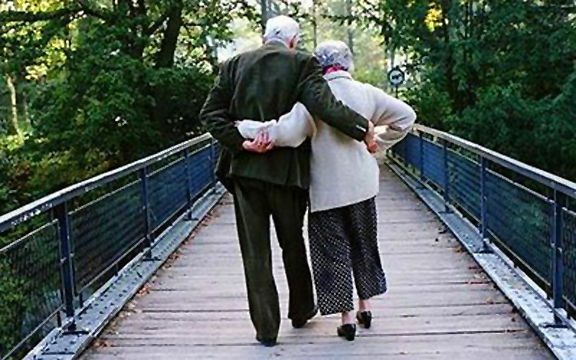 Старая пара