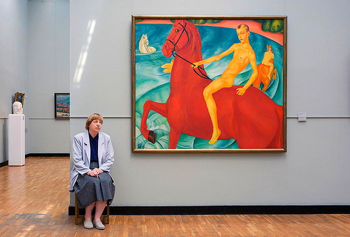 Петров-Водкин. Купание красного коня