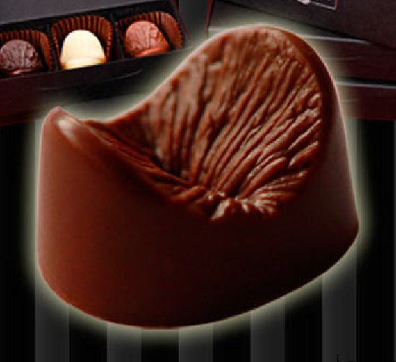 Шоколадный анус