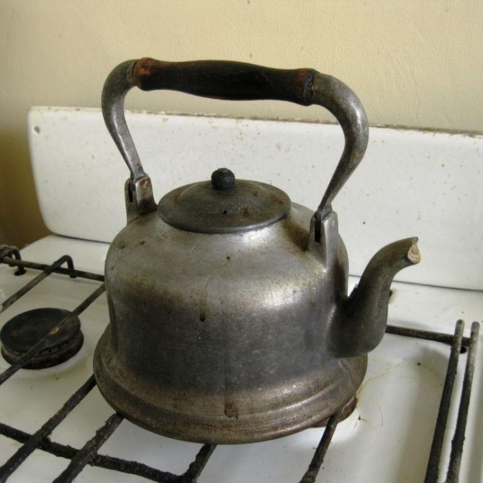 Старый советский чайник
