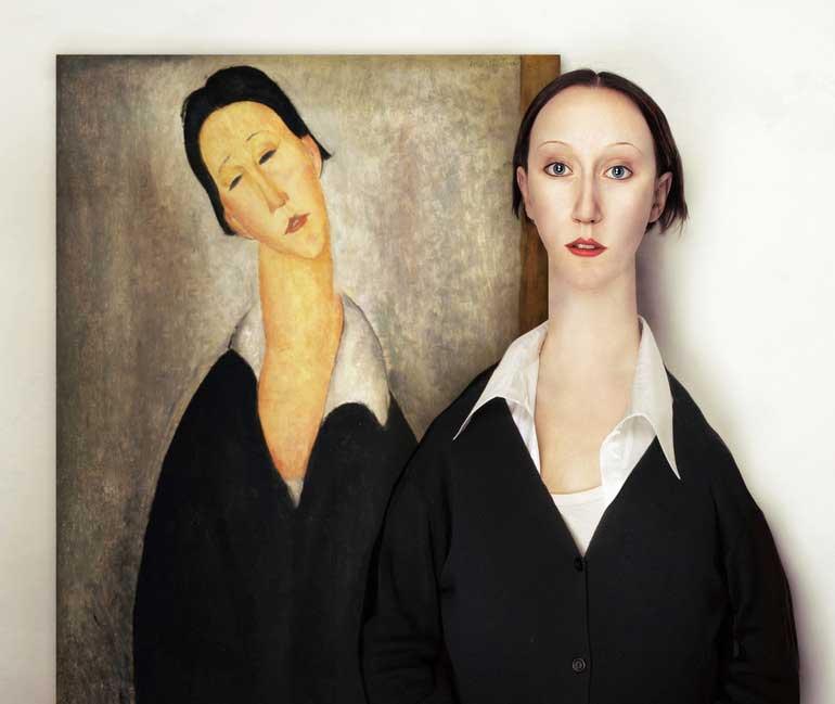 'Portrait of a polish woman' by Amedeo Modigliani