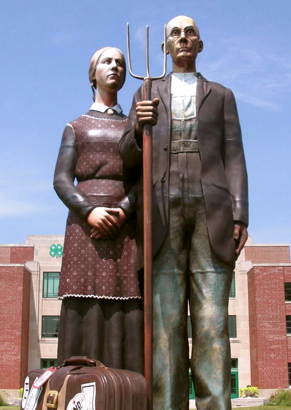 American Gothic by Seward Johnson