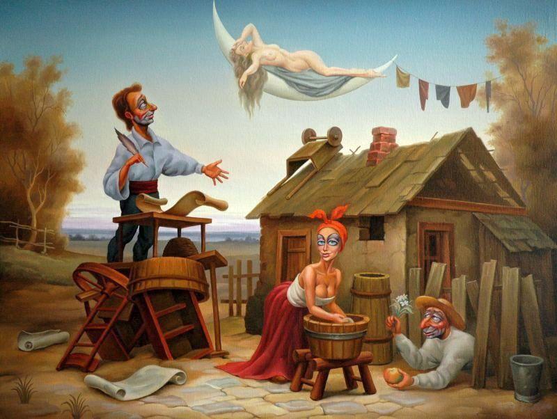 Об поэзии, об эмпиреях и об игре в веревочку
