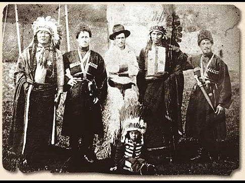 Чукотские хлопкоробы среди алеутских нанайцев