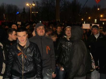 из Луганска гопота...