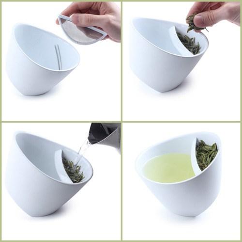 Чашка-чайник для зеленого чая