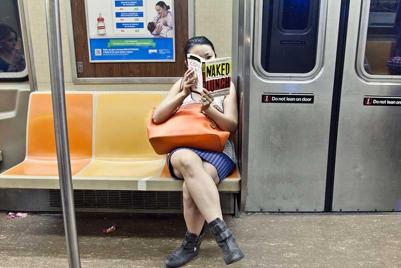 В нью-йоркской подземке