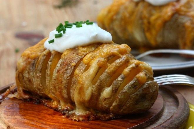 Жареный картофель с жареными фактами