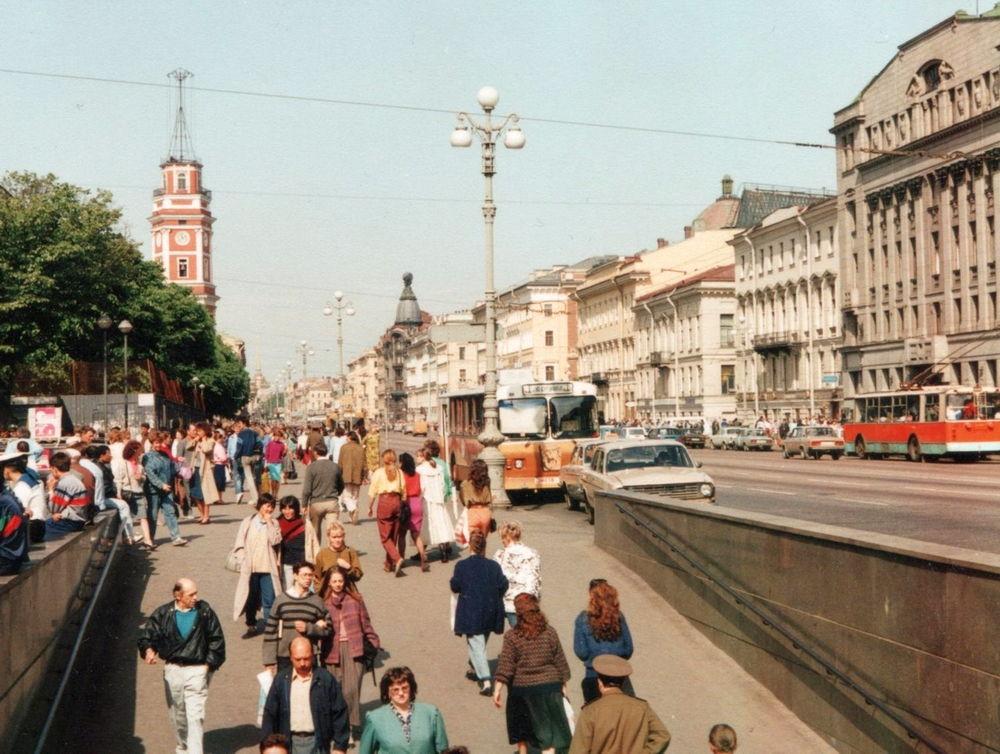 Петербург в девяностые