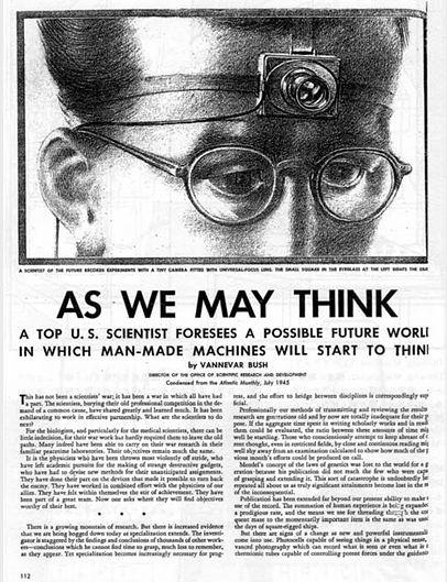 Интернет из 1945 года