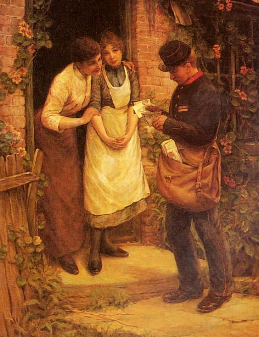 Thomas Liddall Armitage - The Postman