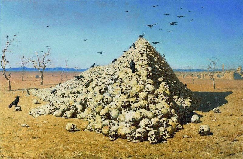 Верещагин -Апофеоз войны-
