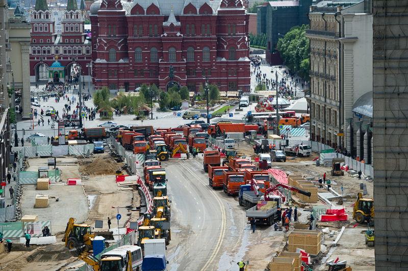 Стройки в Москве. фото Варламова