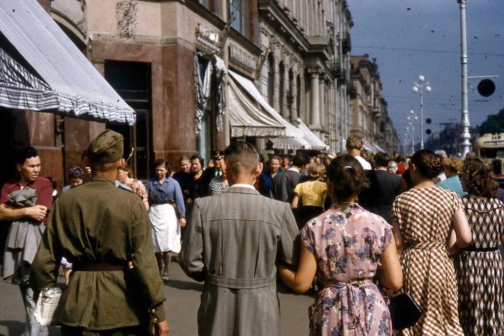 СССР на снимках Томаса Хаммонда