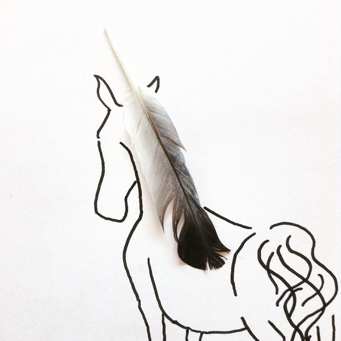 Feather Unicorn