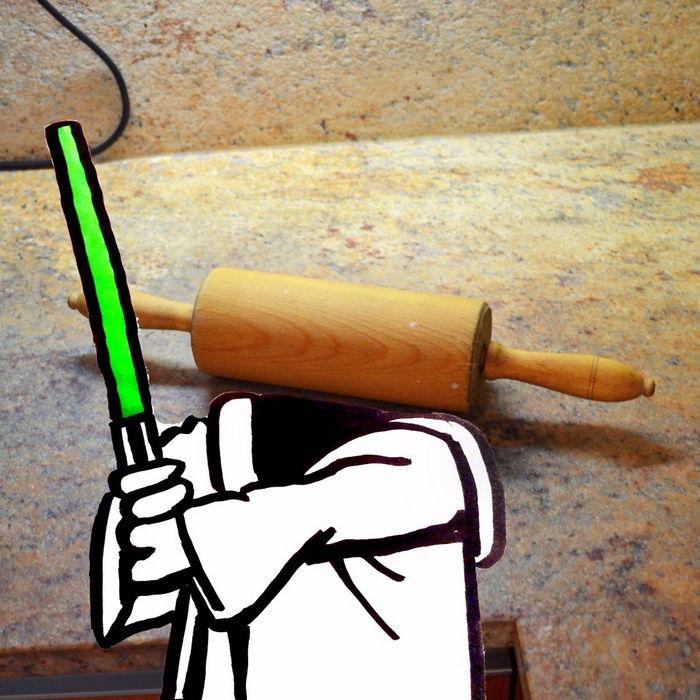 Yoda In The Kitchen