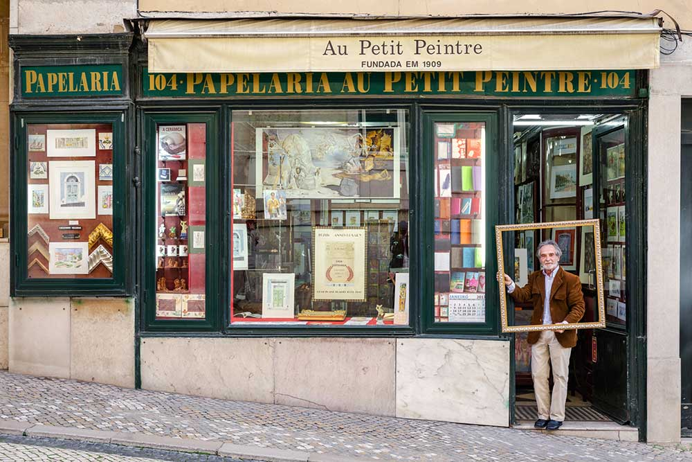 Сказка лиссабонских магазинчиков