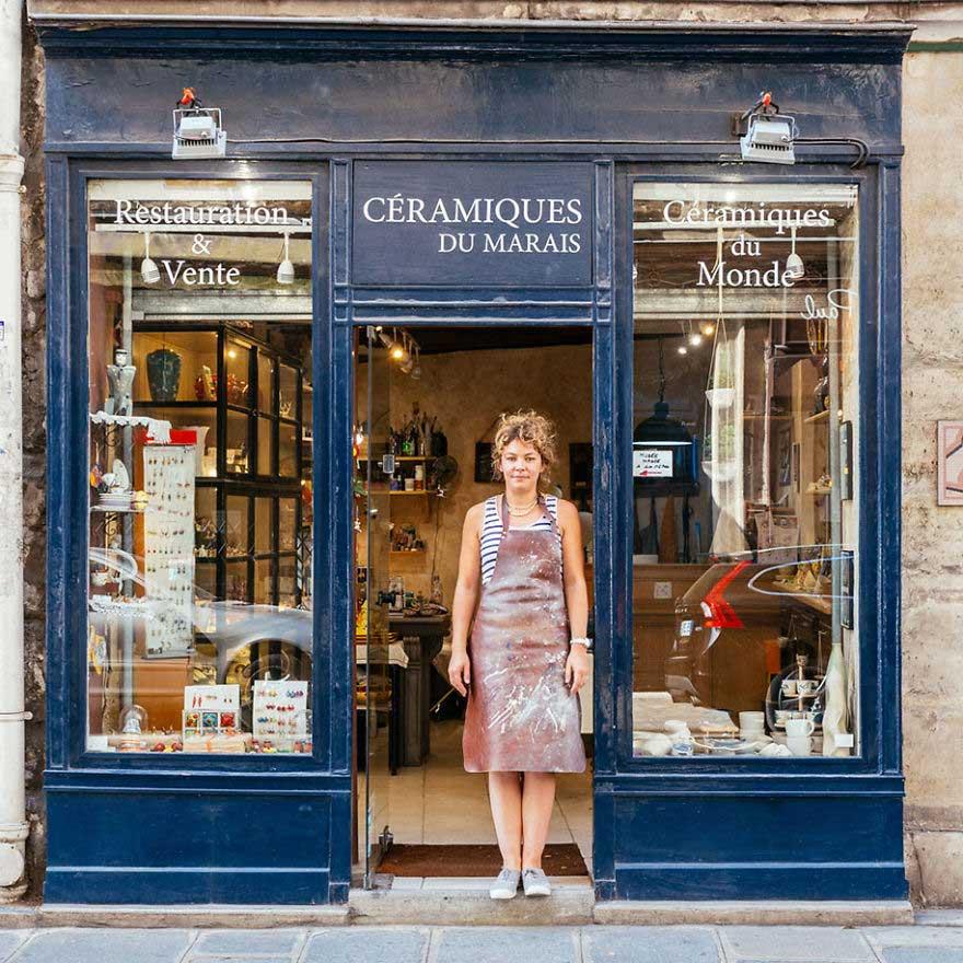 Старые магазинчики Парижа