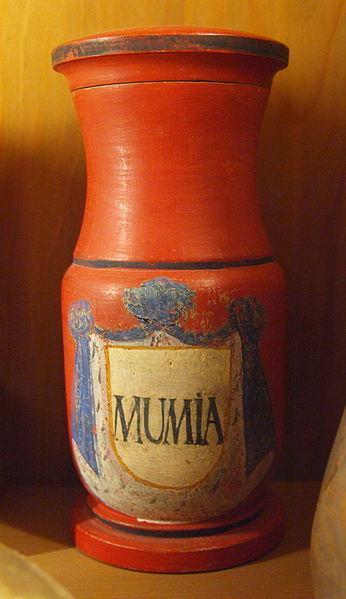 Горшочек для молотых мумий