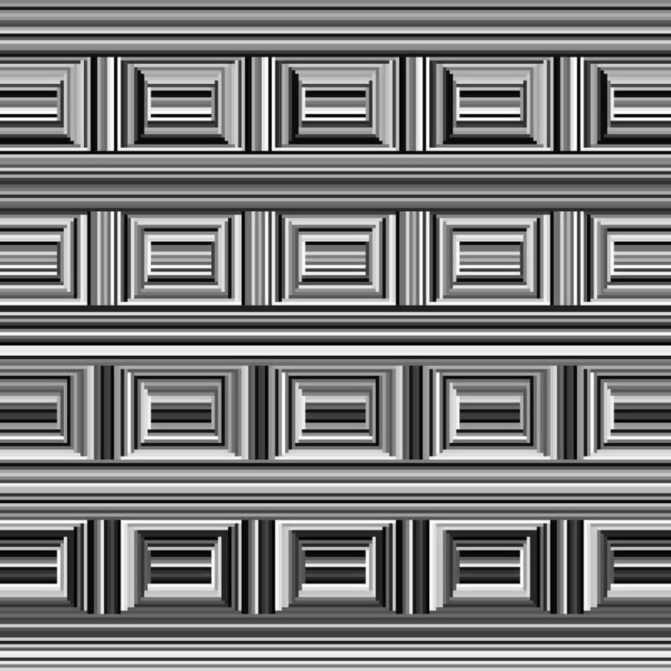 Оптическая иллюзия Энтони Норсия