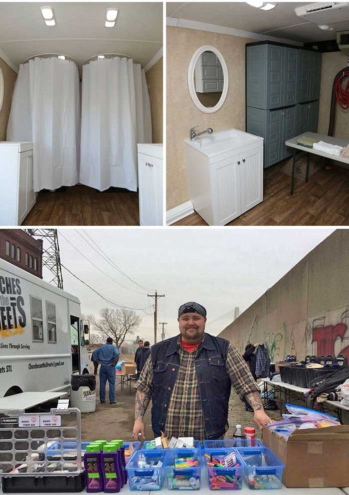 Душ для бездомных