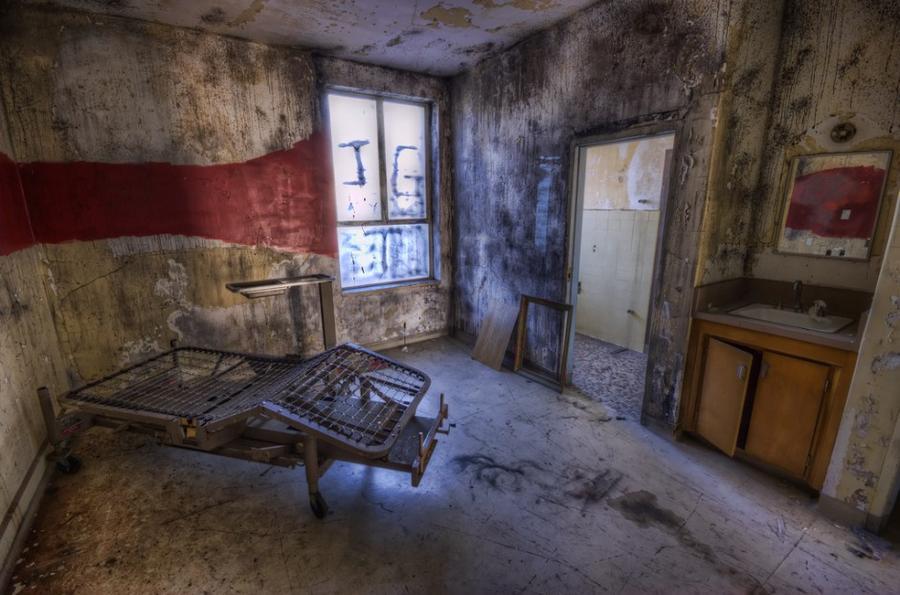 Заброшенная клиника