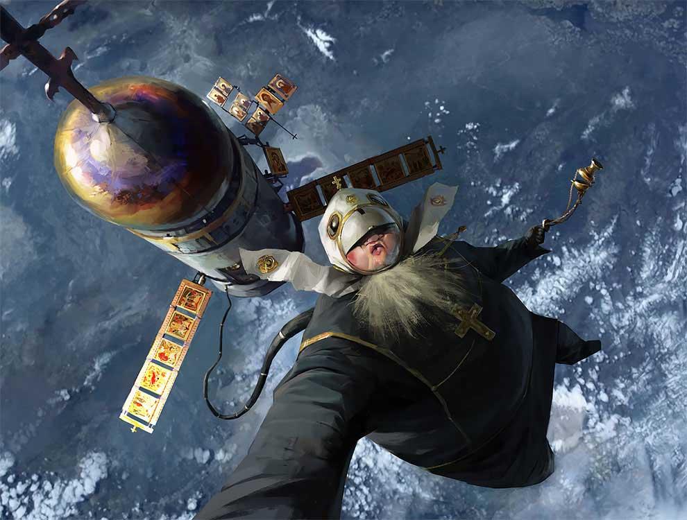 Пресвятая космонавтика