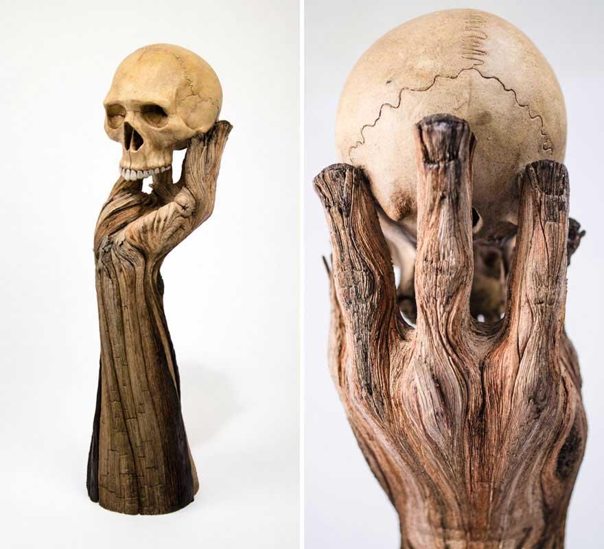Керамическое дерево Кристофера Девида Уайта
