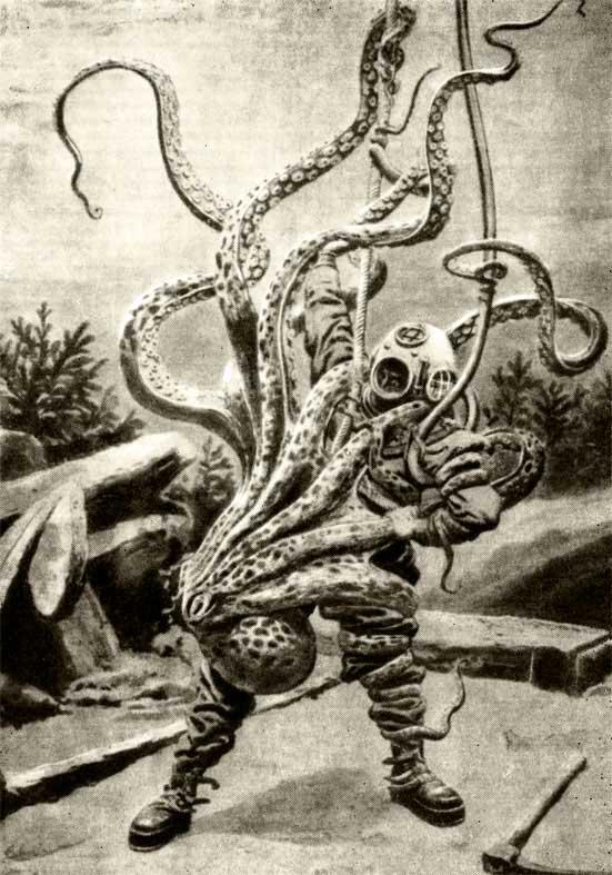 Октопусы против эректусов